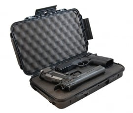 DAA Thin Pistol Case, Black