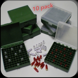 Ammo box 100 x 9mm/.38 super patronen  bundel van 10