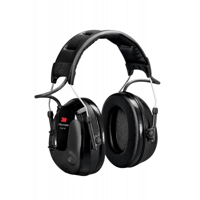 PELTOR ProTac III Slim Headset, black, headband