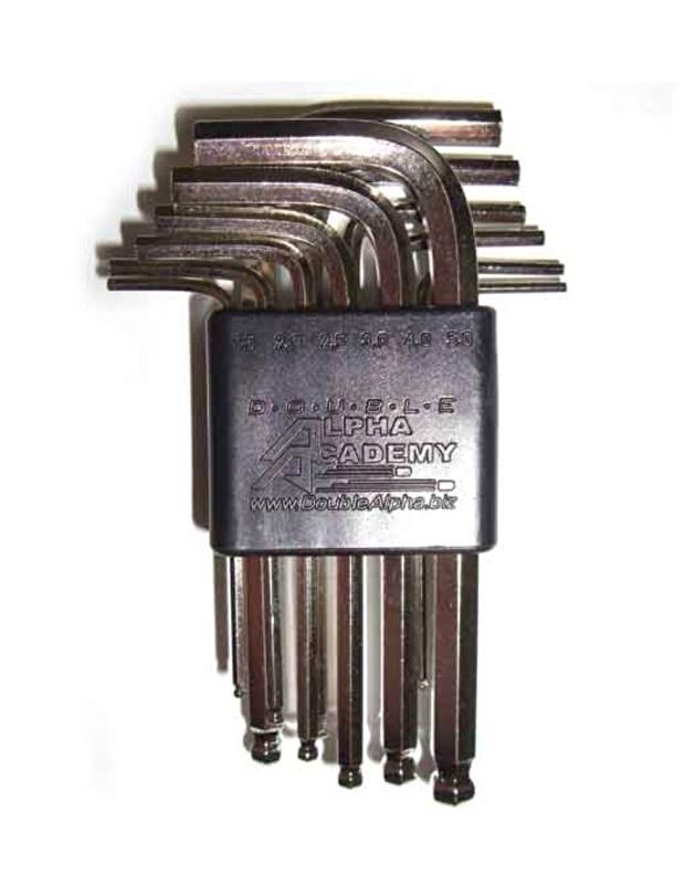 DAA/CED hex key set