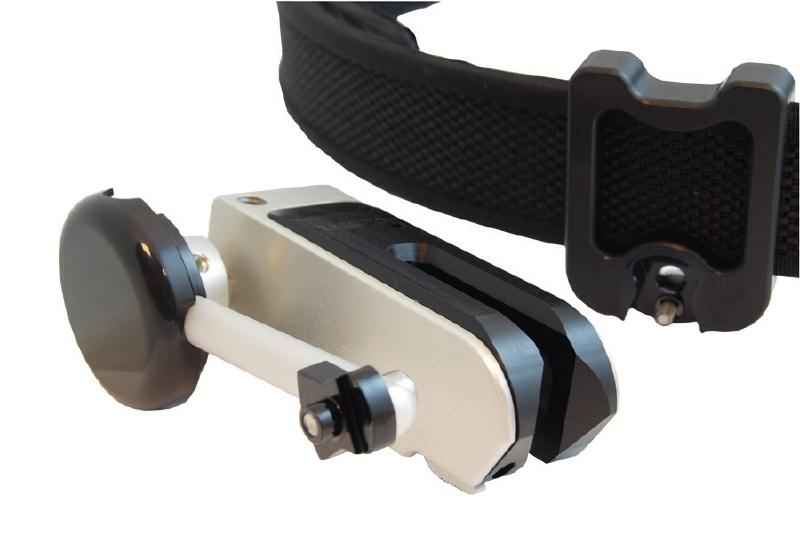 Race master/racer holster detachable belt hanger