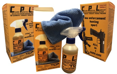 CPL Ceraflon Quick cleaner and lubricant for on the range