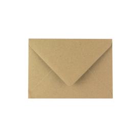 kraft envelop grote postkaart