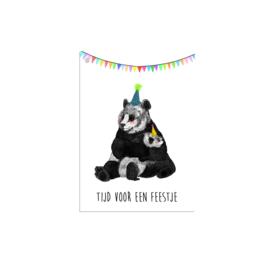 cadeaukaartje feestje (per 10)
