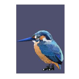ijsvogel print (20x28)