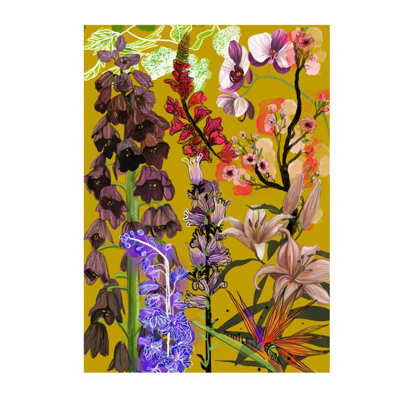 bloemen collectie (20x28cm)