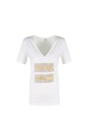 Shirt Flora off white
