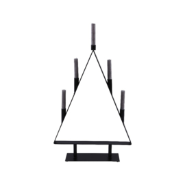 Metalen kerstboom kandelaar