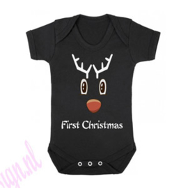 Kerst romper First christmas