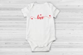 Baby romper Love