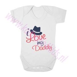 Baby romper i love my daddy