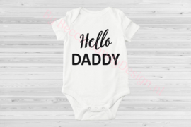 Baby romper Hello Daddy