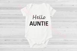 Baby romper Hello Aunti