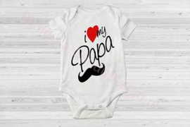 Baby romper i love my papa