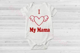 Baby romper i love my mama
