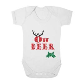 Kerst romper Oh Deer