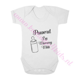 Baby romper powerd by mommy milk