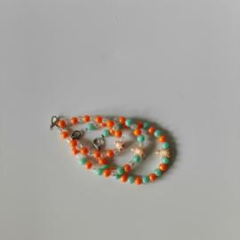 Kinder armband set schildpadjes Oranje