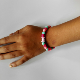 Kinder armband visje 3 kleuren