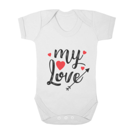 Baby romper my love