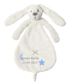 Rabbit Richie Ivory knuffeldoek