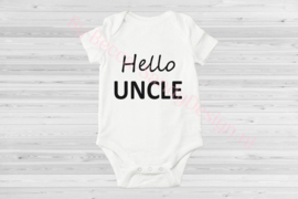 Baby romper Hello Uncle