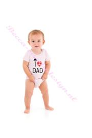 Baby rompertje i love dad