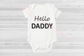 Baby romper Hello Daddy 1