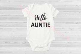 Baby romper Hello Aunti (1)