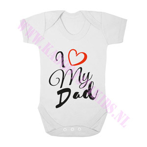 Baby romper i love my dad
