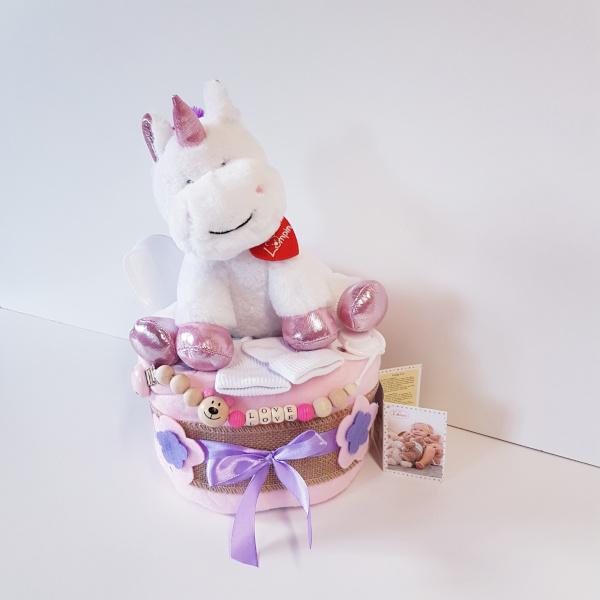 Luiertaart unicorn lucy( lumpin)