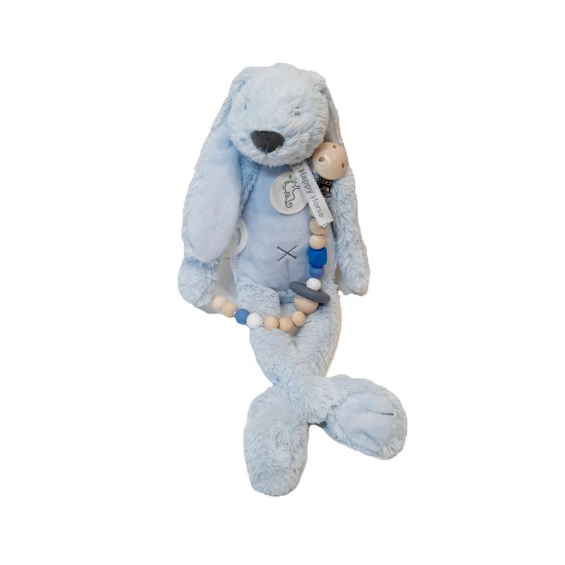 Rabbit Richie Blauw met speenkoord