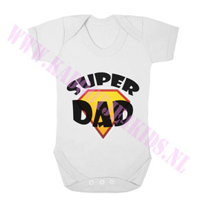 Baby romper super dad