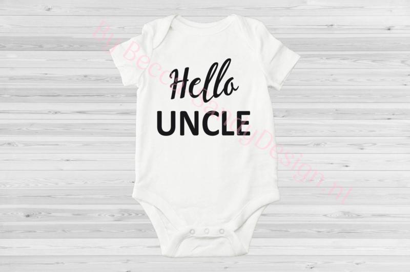 Baby romper Hello Uncle(1)