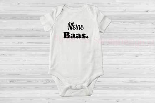 Baby rompertje Kleine Baas