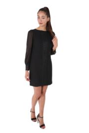 Haer Party 2 Getailleerde jurk zwart