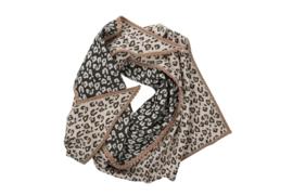 Haer Accessoire 20 - Grote sjaal in luipaardprint