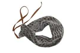 Haer Accessoire 21 - bontsjaal in grijs