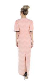 Haer Party 21 - Lange jurk in peach