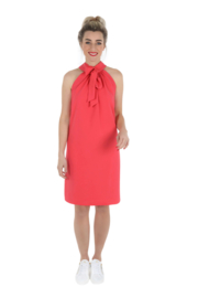 Haer Party  9 - Halterjurk in coral