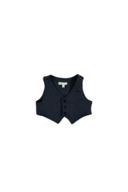 Le Chic Garcon 0192 Gilet chic sweat Blue navy