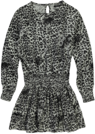 LEVV Dress DARLEEN Black leopard
