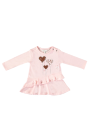Le Chic 9890 Dress with heart-balloons Pretty in Pink