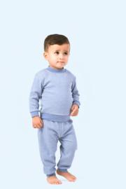 Feetje pyjama blauw melée
