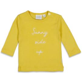 Feetje 51601650 Longsleeve Sunny Side Sunny Mood Geel