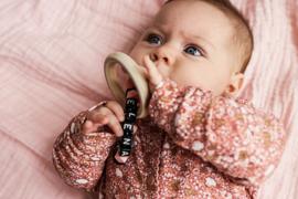LEVV newborn LOTTIE playsuit nude bloem