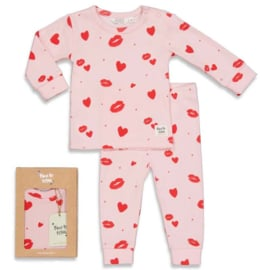 FEETJE pyjama LOVE LESLEY roze * limited edition*