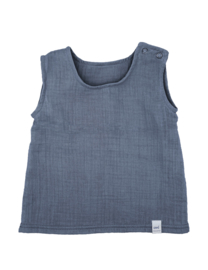 Maximo top organic cotton blauw
