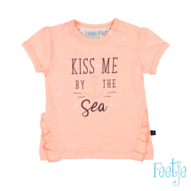 Feetje 517.0000547 shirt kiss mee by the sea rose