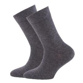 Ewers 29223 sokken 2 paar antraciet melee